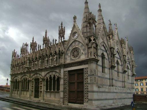 Ugo Nespolo alla Chiesa della Spina (Pisa)